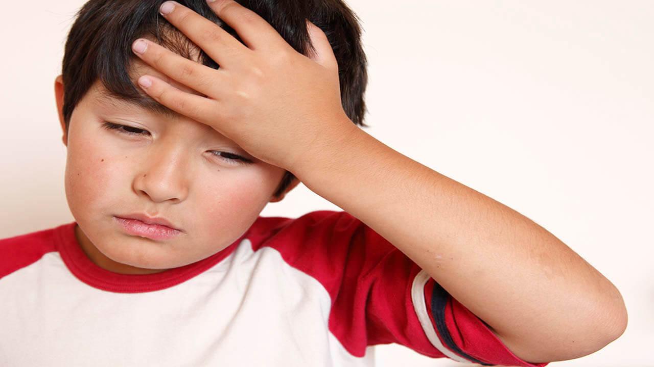 میگرن نتیجه کمبود ویتامین D در کودکان