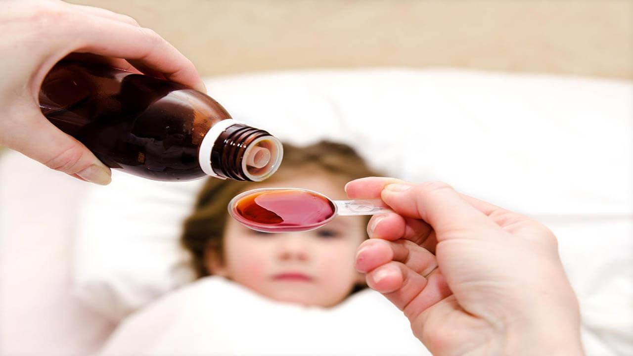 نحوه استفاده داروهای سرماخوردگی در کودکان