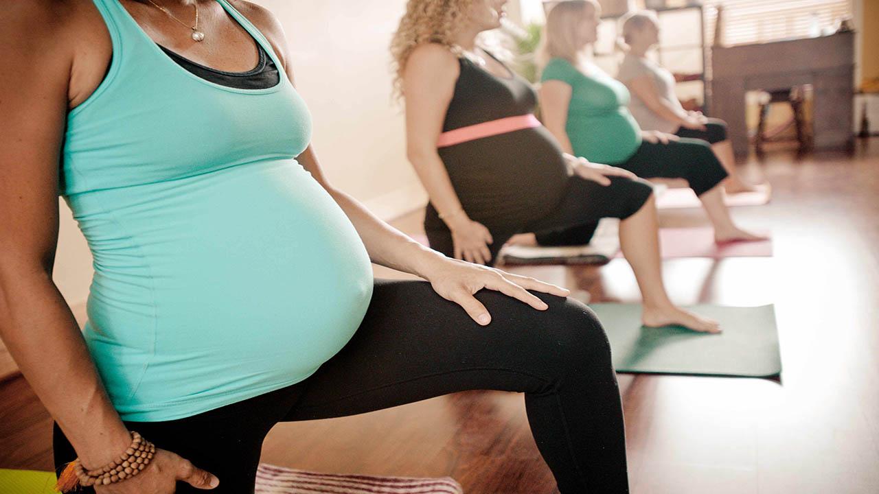 یوگا بهترین ورزش دوران بارداری