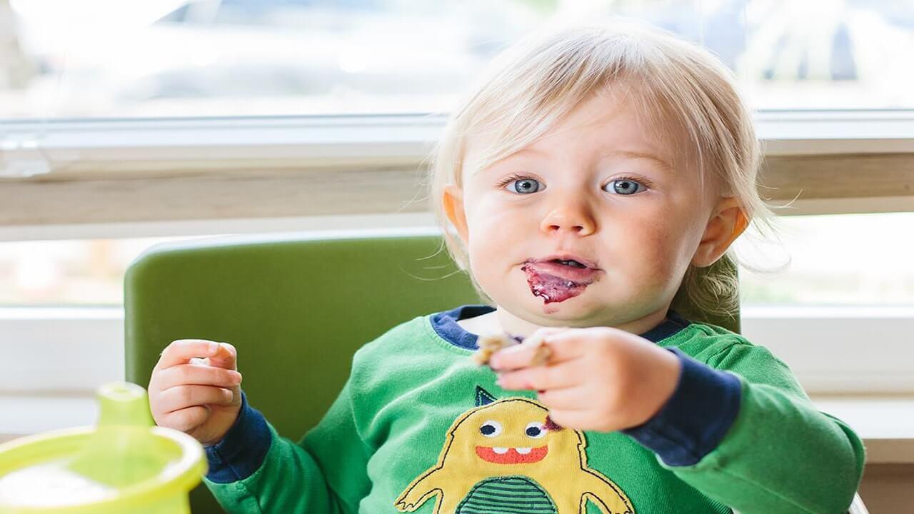 25 غذای کمکی ایمن برای نوزادان