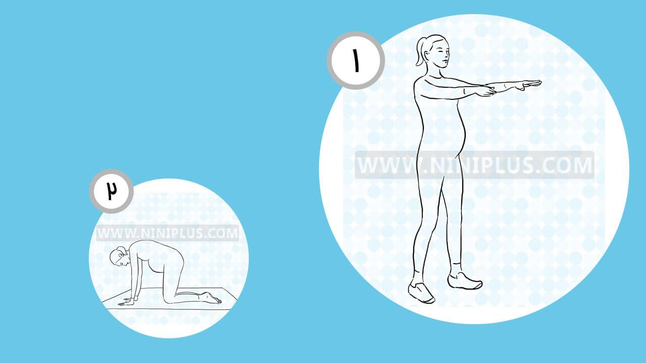 4 تمرین ورزشی برای ریلکس شدن در دوران بارداری