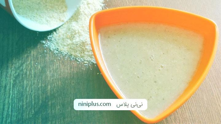 دستور پخت 5 حریره آسان برای شیرخواران
