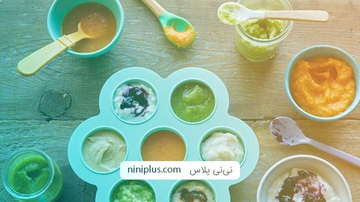 دستور پخت 6 غذای کمکی مفید برای نوزادان از شش ماهگی به بعد