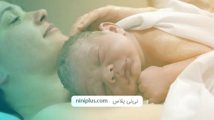 7 راهکار برای آرام کردن نوزاد بلافاصله پس از زایمان