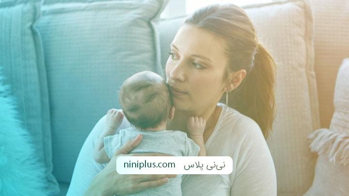 تغییرات رفتاری مادران پس از زایمان