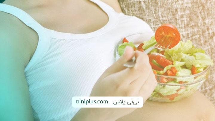 فواید و مضرات مصرف گوجه فرنگی در بارداری