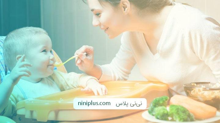 بایدها و نباید ها در غذاهای مناسب برای کودک نه ماهه
