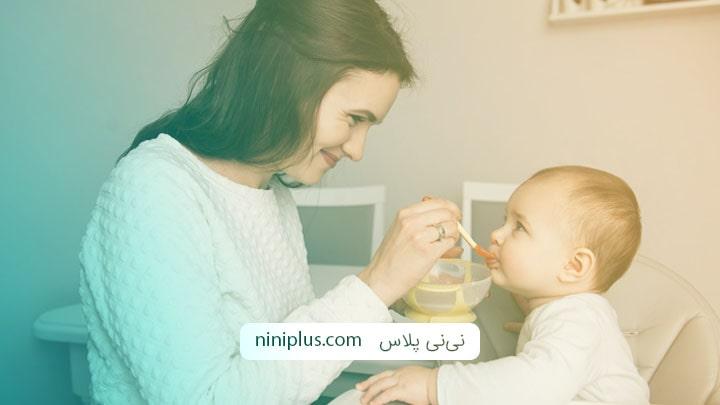 لیست همه غذاهای مناسب برای کودک هفت ماهه
