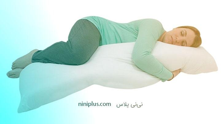 Full-length pregnancy pillow