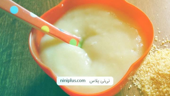 دستور پخت انواع حریره برای شیرخواران