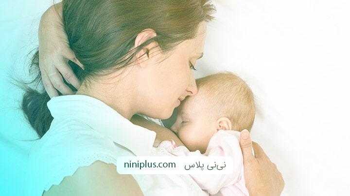 تاثیرات مثبت شیردهی بر مادر