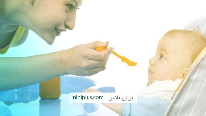 شروع غذای کمکی در کودکانی که دچار حساسیت غذایی هستند