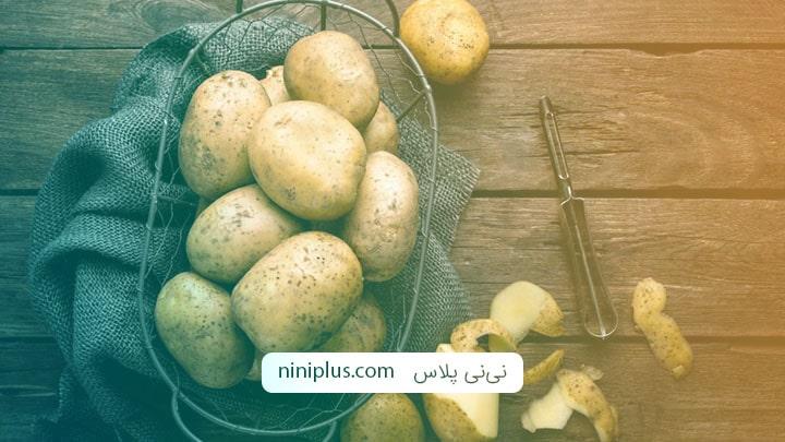 فواید و عوارض جانبی خوردن سیب زمینی