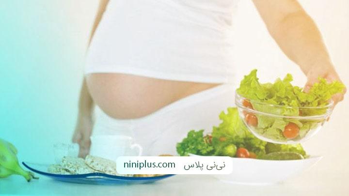 خوردن کاهو در دوران بارداری چه فوایدی دارد؟