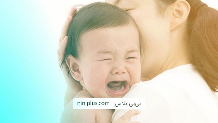 علت و روش های آرام کردن گریه نوزاد