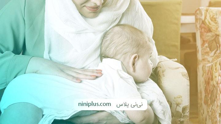 شناخت دلایل و روش های درمان نفخ در نوزادان و شیرخواران