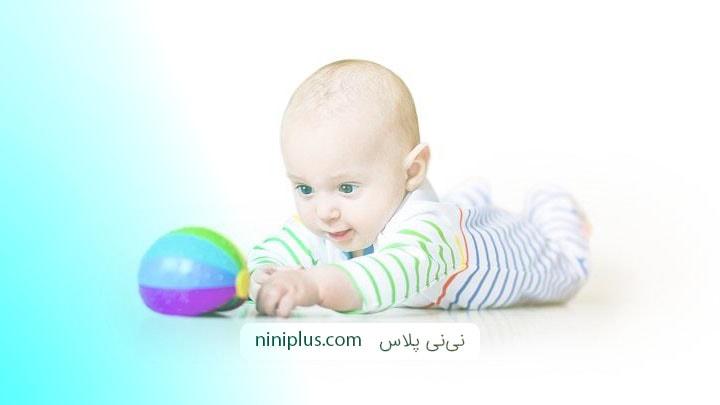 تغییرات نوزاد در سه تا شش ماهگی
