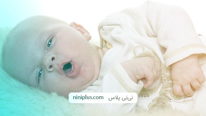 نخستین سرماخوردگی نوزاد پس از تولد