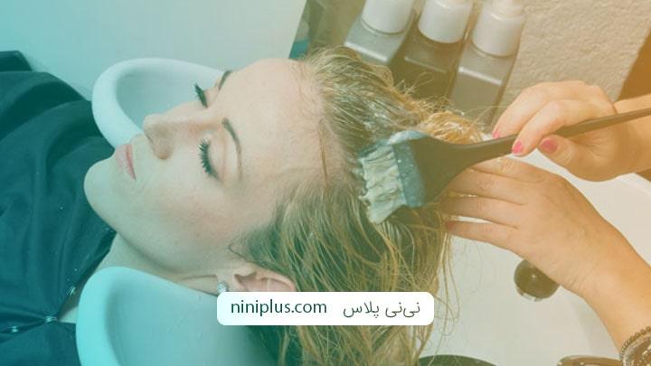عوارض رنگ کردن مو در بارداری