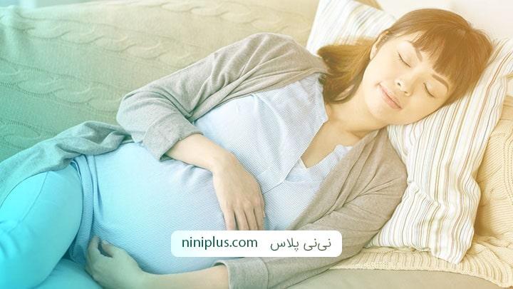 روش صحیح خوابیدن در بارداری دوقلویی و چندقلویی