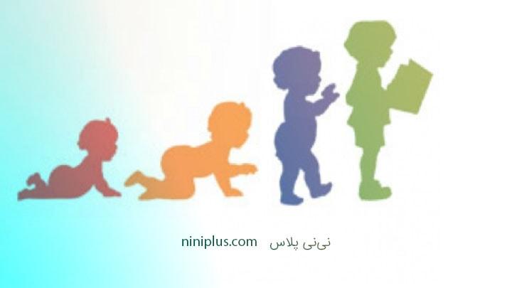 نقطه عطف رشد نوزاد در شش هفتگی