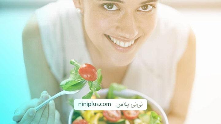 بعد از نزديكي براي بارداري چه بخوریم؟