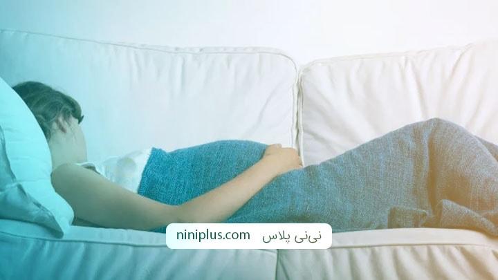 پیامدها و معایب استراحت مطلق در دوران بارداری