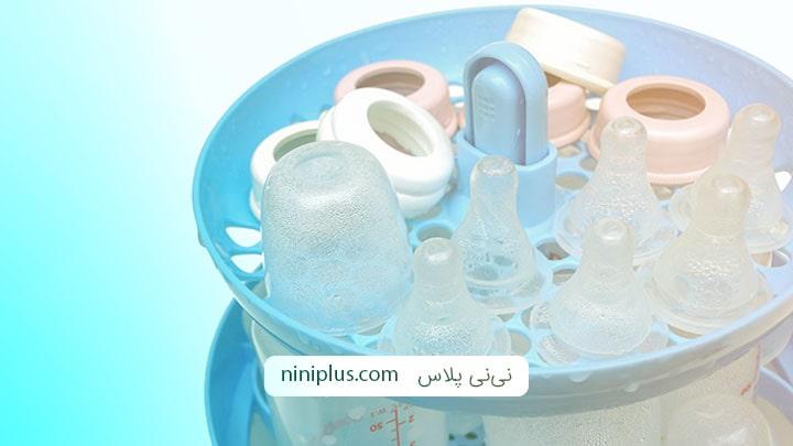 آیا ضدعفونی کردن شیشه شیر نوزاد ضرور است؟