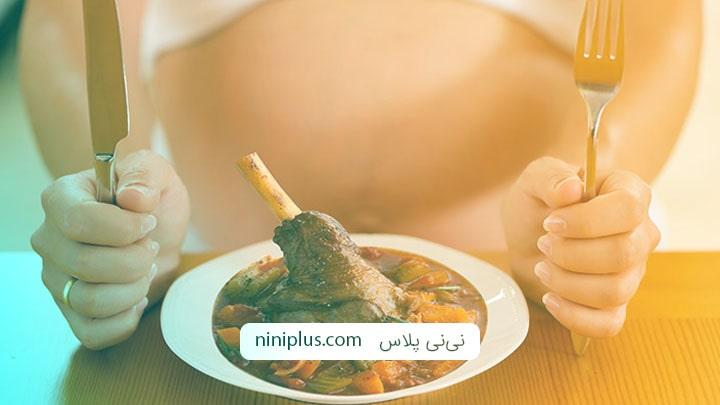 خوردن گوشت گوساله و گوشت بره در بارداری چه فواید و خطراتی دارد؟