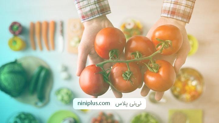 تاثیر گوجه فرنگی در افزایش قدرت باروری مردان