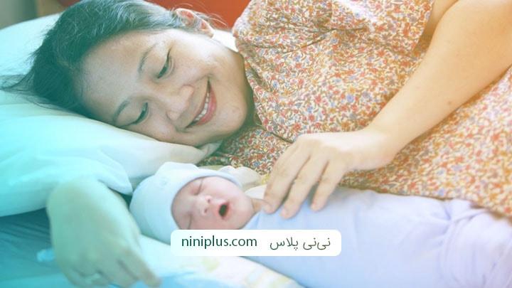 مراقبت از نوزاد تازه متولد شده تا سه ماهه