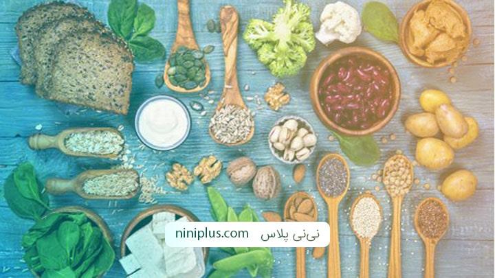 در رژیم غذایی گیاهخواری بارداری چطور پروتئین کافی دریافت کنیم؟