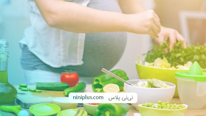 آیا خام گیاهخواری در دوران بارداری برای جنین مضر است؟