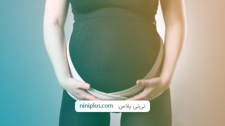 علت پایین بودن شکم در بارداری