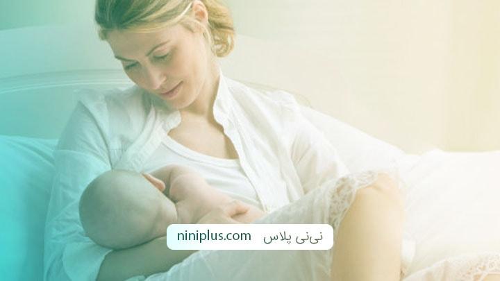 آماده سازی نوک پستان برای شیردهی پستانی