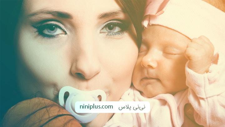 کاهش آلرژی در نوزادان با مکیدن پستانک