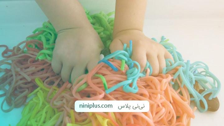 انواع بازی های حسی برای کودکان