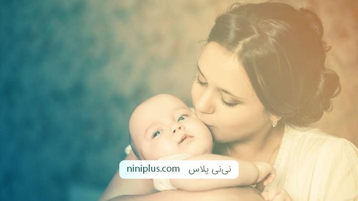راه حل ساده برای بغلی شدن نوزاد