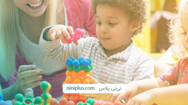 شناخت بازی های ساختاری مناسب کودکان