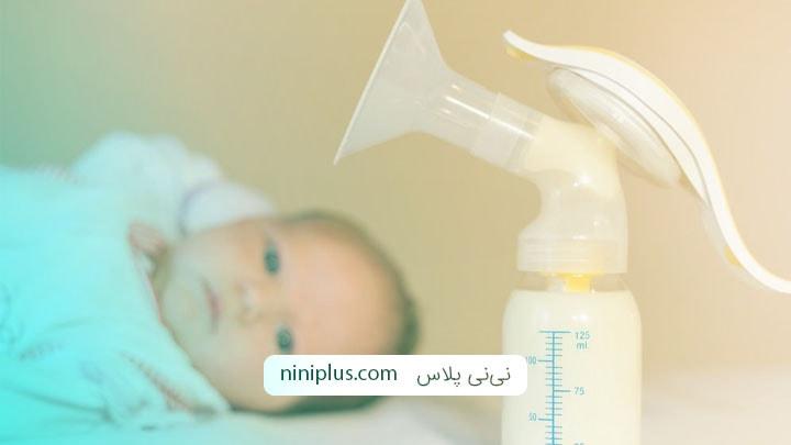 نکات مثبت و منفی استفاده از شیردوش برای شیردهی به نوزاد