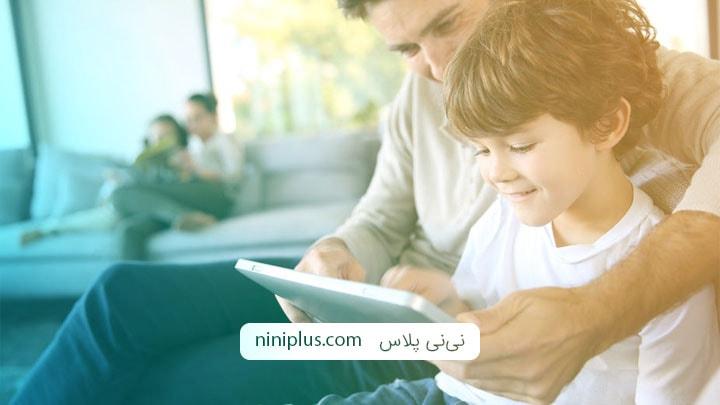 فواید و مضرات استفاده از تلویزیون و ابزار دیجیتال برای کودکان