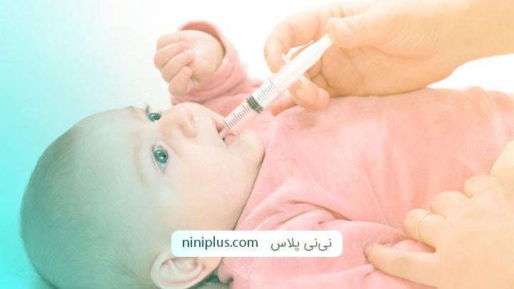 آموزش روش های صحیح دارو دادن به نوزاد