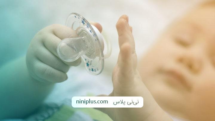 10 روش ترک دادن پستانک در کودکان