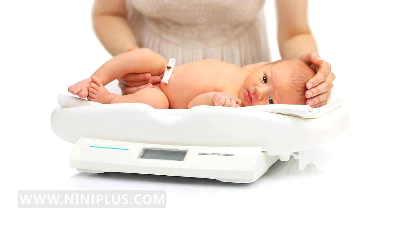 همه چیز درباره وزن مناسب نوزادان هنگام تولد!