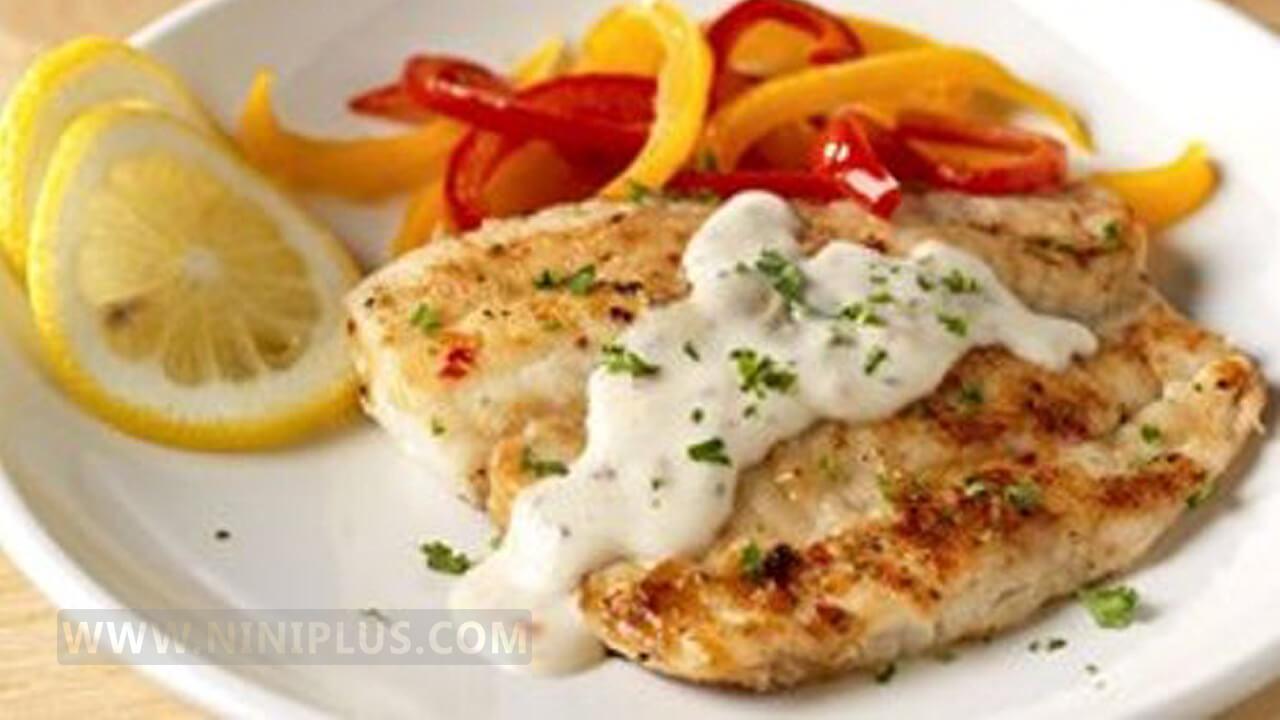 دستور پخت کباب ماهی با سس نارگیل منبعی سرشار از ویتامین C