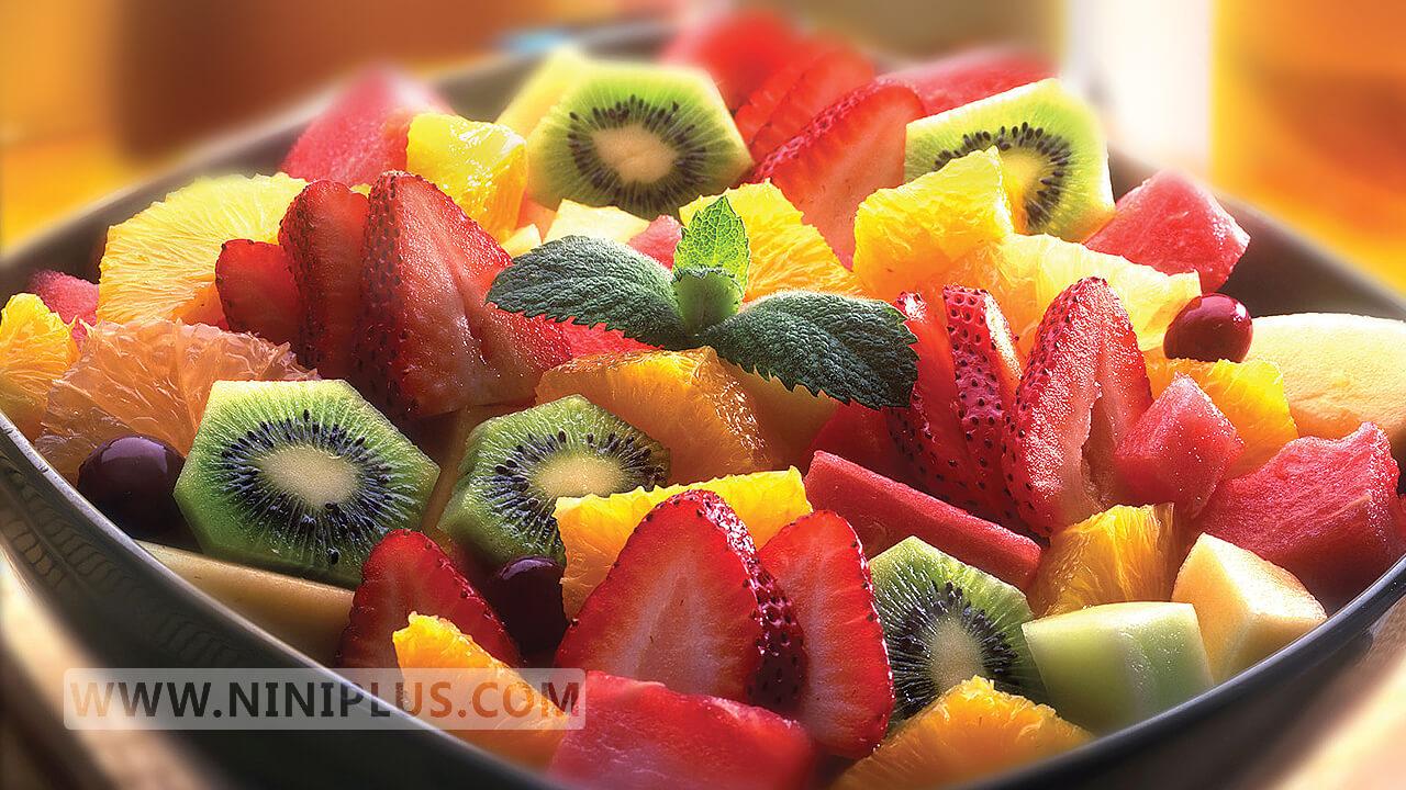 طرز تهیه سالاد میوه تابستانی