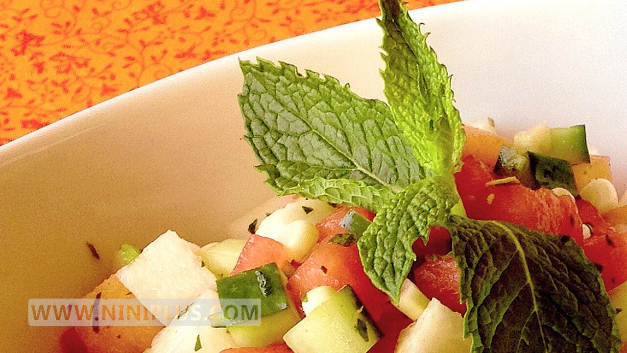 دستور تهیه سالاد میوه پاییزی (مغذی و کم کالری)