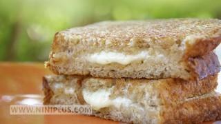ساندویچ پنیر گریل  شده نی نی پلاس