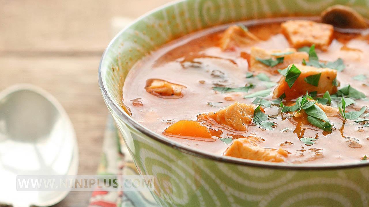 دستور پخت سوپ گوشت و سبزیجات