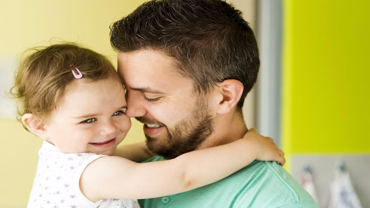 افزایش مهارت های اجتماعی، نتیجه تعامل پدر و نوزاد